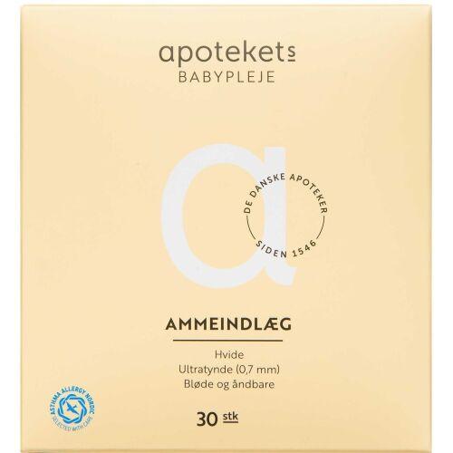 Køb Apotekets Ammeindlæg 30 stk. online hos apotekeren.dk