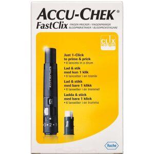 Køb Accu-Chek FastClix fingerprikker 1 stk. online hos apotekeren.dk