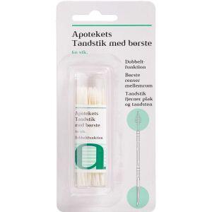 Køb Apotekets tandstikker med børste 60 stk. online hos apotekeren.dk