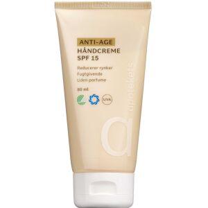 Køb Apotekets Anti-age håndcreme SPF15 80 ml online hos apotekeren.dk