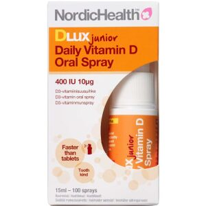 Køb Dlux Junior D-vitamin Spray 15 ml online hos apotekeren.dk