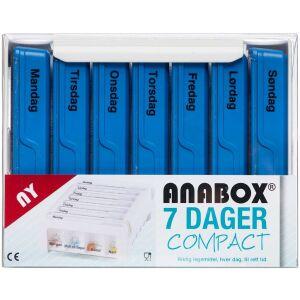 Køb Anabox Compact 7 dage blå 1 stk. online hos apotekeren.dk