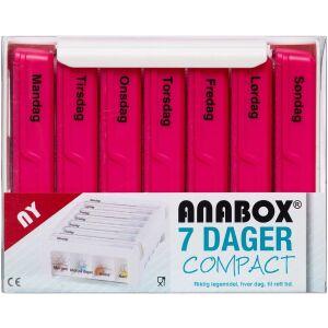 Køb Anabox compact 7 dage pink 1 stk. online hos apotekeren.dk
