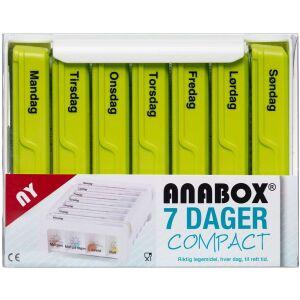 Køb Anabox compact 7 dage grøn 1 stk. online hos apotekeren.dk