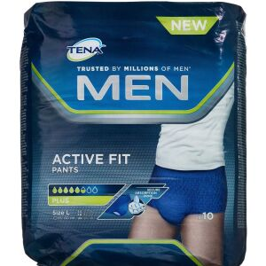 Køb TENA Men Active Fit pants 12 stk. online hos apotekeren.dk