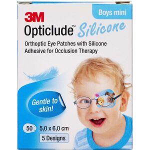 Køb 3M Opticlude Skeleplaster boy mini 5,0x6,0 cm 50 stk. online hos apotekeren.dk