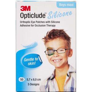 Køb 3M Opticlude Skeleplaster boy maxi 5,7 x 8 cm. 50 stk. online hos apotekeren.dk