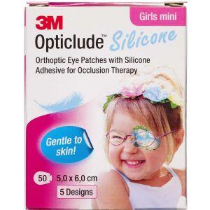Køb 3M Opticlude Skeleplaster girl mini 5,0x6,0 cm 50 stk. online hos apotekeren.dk