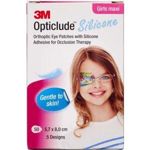 Køb 3M Opticlude Skeleplaster girl maxi 5,7 x 8,0 cm 50 stk. online hos apotekeren.dk