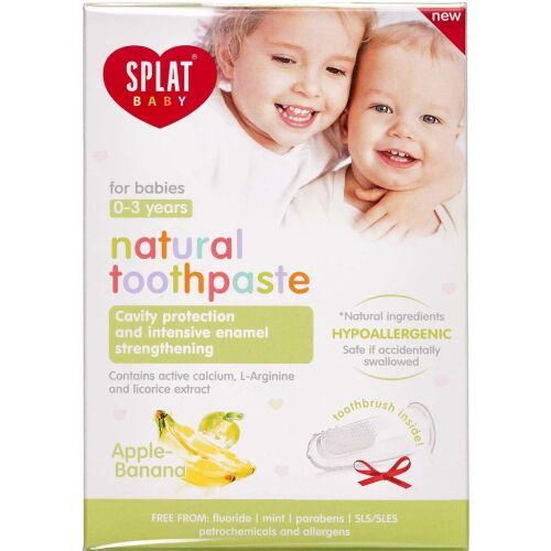 Køb SPLAT® BABY tandpasta æble/banan 40 ml. online hos apotekeren.dk