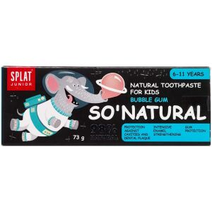 Køb SPLAT® SO'Natural bubblegum 55 ml online hos apotekeren.dk