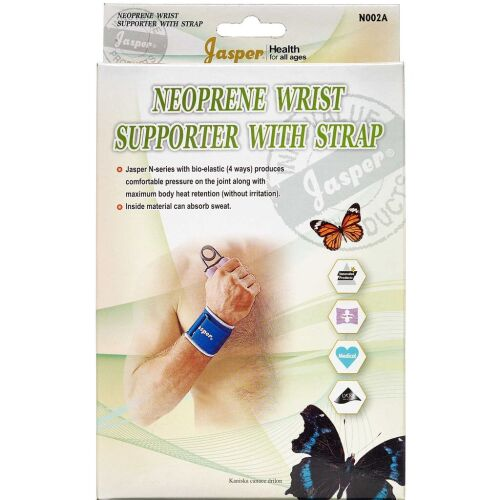 Køb Jasper neopren håndledsbandage XL 1 stk. online hos apotekeren.dk