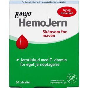 Køb Longo Hemojern tabletter 60 stk. online hos apotekeren.dk