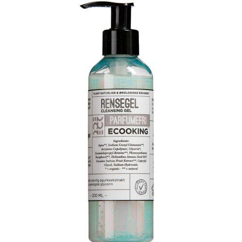 Køb Ecooking Rensegel parfumefri 200 ml online hos apotekeren.dk