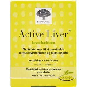 Køb Active Liver tabletter 120 stk. online hos apotekeren.dk