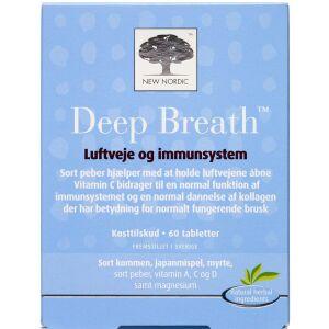 Køb Deep Breath tabletter 60 stk. online hos apotekeren.dk