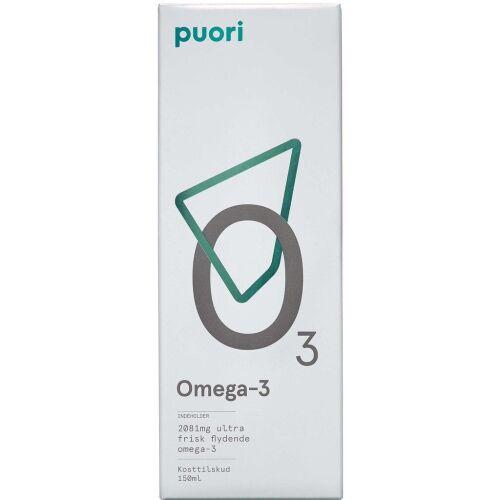 Køb Puori Omega-3 flydende 150 ml online hos apotekeren.dk