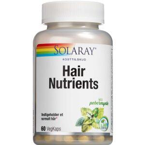 Køb Solaray Hair Nutrients 60 stk. online hos apotekeren.dk