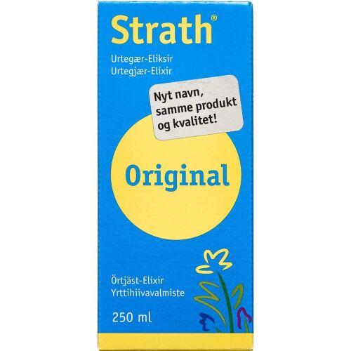 Køb Strath Urtegær eliksir 250 ml online hos apotekeren.dk