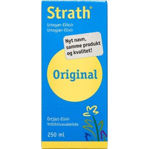 Køb Strath Urtegær-Eliksir 250 ml online hos apotekeren.dk