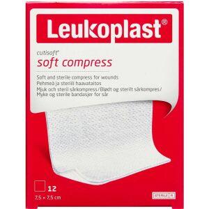 Køb Cutisoft Steril 7,5 x 7,5 cm kompres 12 stk. online hos apotekeren.dk