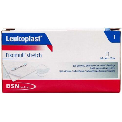 Køb Leukoplast Fixomull Stretch 10 cm x 2m tape 1 stk. online hos apotekeren.dk