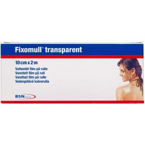 Køb Fixomull Transparent 10 cm x 2 m 1 stk. online hos apotekeren.dk