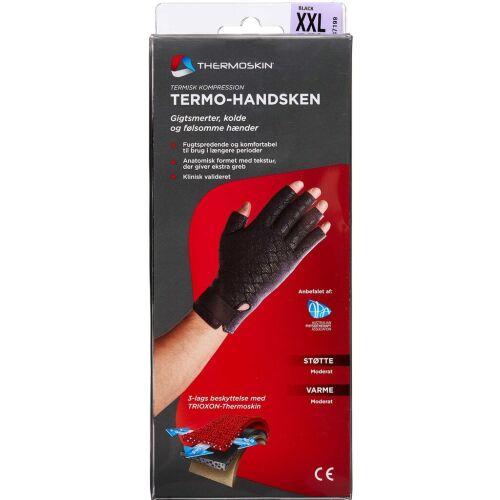 Køb Thermoskin handske sort str. XXL 1 par online hos apotekeren.dk