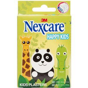Køb Nexcare Happy Kids Animals ass. 20 stk. online hos apotekeren.dk