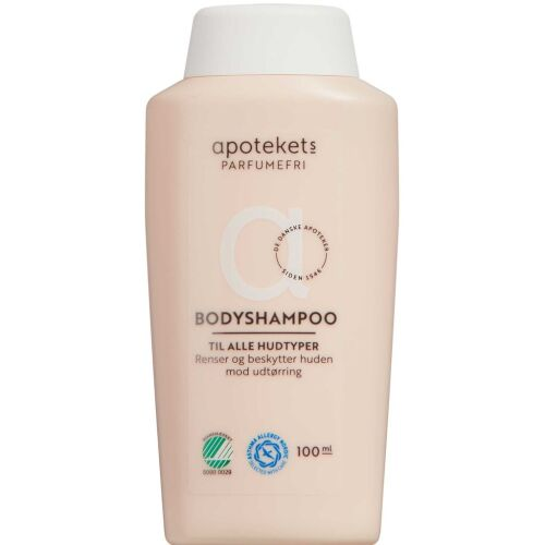Køb Apotekets bodyshampoo beige 100 ml online hos apotekeren.dk