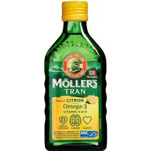 Køb Møllers Tran Omega-3 flydende citrus online hos apotekeren.dk