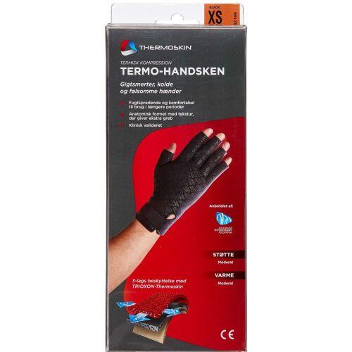 Køb Thermoskin handske sort str. XS 1 par online hos apotekeren.dk