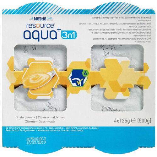 Køb Resource Aqua+ 3i1 citrus 4x125 g online hos apotekeren.dk