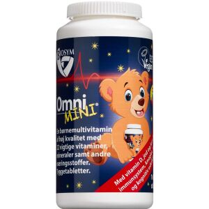 Køb OmniMINI Multivitamin 160 stk. online hos apotekeren.dk
