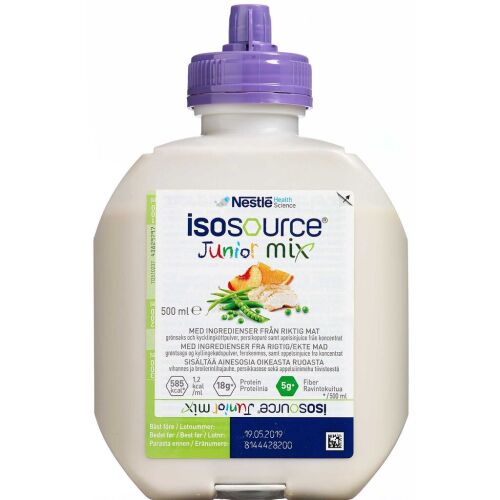 Køb Isosource Junior mix 500 ml online hos apotekeren.dk