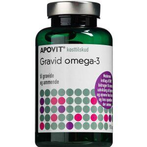 Køb Apovit Gravid Omega-3 90 stk. online hos apotekeren.dk