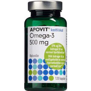 Køb Apovit Omgea-3 500 mg 120 stk. online hos apotekeren.dk