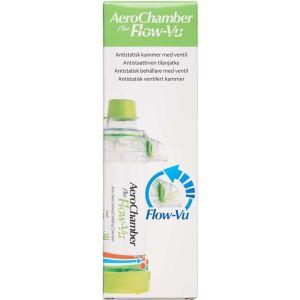 Køb Aerochamber Plusflow-Vu mund ung grøn 1 stk. online hos apotekeren.dk