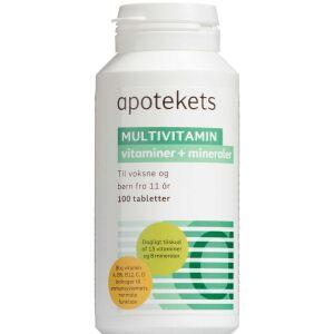 Køb Apotekets Multivitamin 100 stk. online hos apotekeren.dk