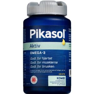 Køb Pikasol Aktiv fiskeolie 100 stk. online hos apotekeren.dk