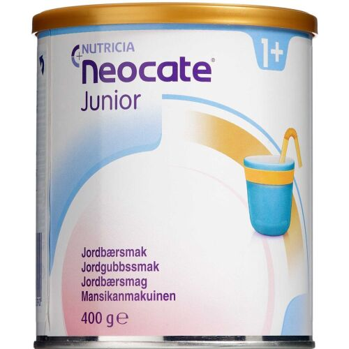 Køb Neocate Junior Jordbær 400 g online hos apotekeren.dk