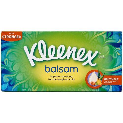 Køb Kleenex Balsam Box 72 stk. online hos apotekeren.dk