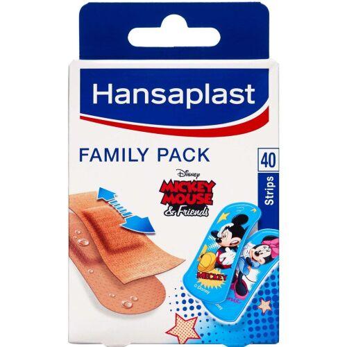 Køb Hansaplast Family Pack ass. 40 stk. online hos apotekeren.dk