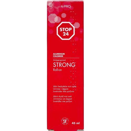 Køb Stop 24 Antiperspirant Stærk 45 ml online hos apotekeren.dk