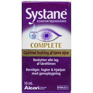 Køb Systane Complete øjendråber 10 ml online hos apotekeren.dk