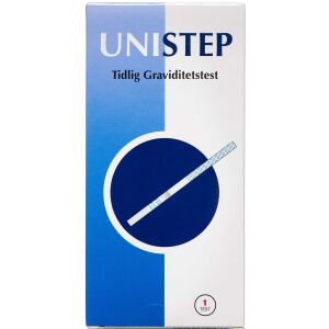 Køb UNISTEP Graviditetstest 1 stk. online hos apotekeren.dk