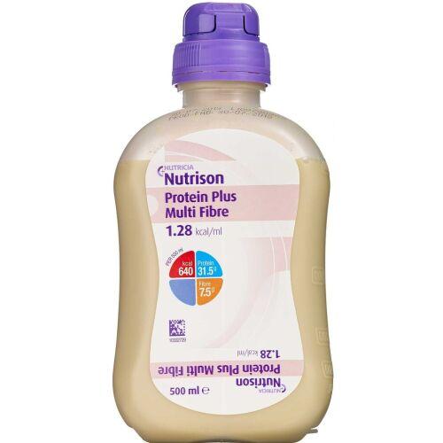 Køb Nutrison Protein Plus multi fibre 12 x 500 ml online hos apotekeren.dk