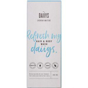Køb Daiiys Hair & Body wash 300 ml online hos apotekeren.dk