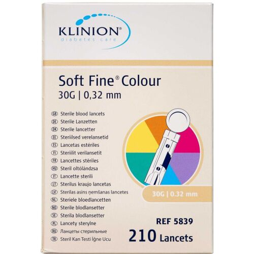 Køb Klinion Lancetter 30G 210 stk. online hos apotekeren.dk