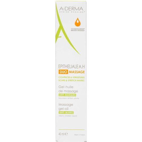 Køb A-DERMA Epitheliale A.H Duo Massage gel-olie 40 ml online hos apotekeren.dk